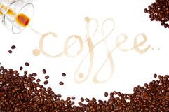 Coffee Stains Royalty Free Stock Images