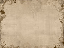 Coffee stains background. Textured template with coffee stains in light brown Royalty Free Stock Photos