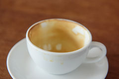 Coffee stains Royalty Free Stock Photos