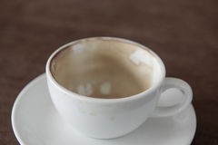 Coffee stains Stock Photo