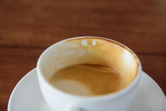 Coffee stains Stock Photos