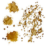 Coffee stains. Royalty Free Stock Photography