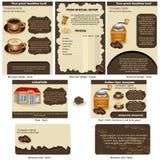 Coffee stationary Stock Photos