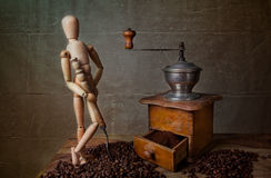 Coffee Still Life Stock Photography