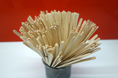 Coffee Stirrers Royalty Free Stock Images