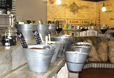 Coffee store Stock Photography