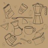 Coffee Stuff Set. Royalty Free Stock Image