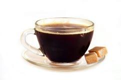 Coffee with sugar Stock Image