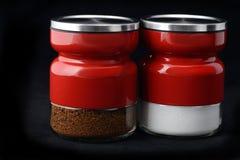 Coffee and sugar Stock Image
