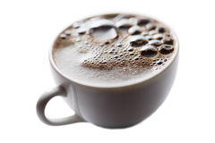 Coffee surface. Royalty Free Stock Image
