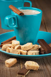 Coffee and sweets Stock Photos