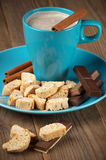 Coffee and sweets Stock Images