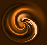 Coffee swirl Stock Photo