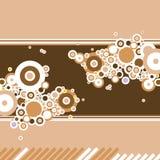 Coffee swirl lines royalty free stock photo