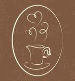 Coffee symbol Royalty Free Stock Photo