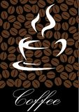Coffee symbol Royalty Free Stock Images