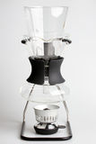 Coffee syphon with glass decanter Royalty Free Stock Image