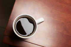 Coffee on a Table Royalty Free Stock Photos