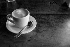 Coffee on the table Stock Photos