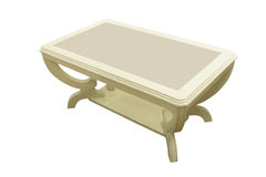 Coffee table Royalty Free Stock Image