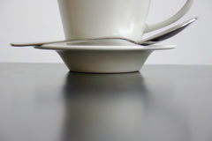 Coffee on Table Stock Images