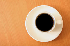 Coffee on a table Royalty Free Stock Images