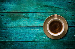 Coffee on the table Royalty Free Stock Photos