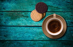 Coffee on the table Royalty Free Stock Photography