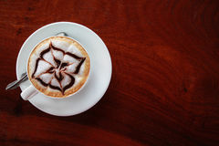 Coffee on table Royalty Free Stock Photos