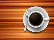 Coffee on a table Stock Images