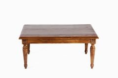 Coffee table on a white background Royalty Free Stock Photos
