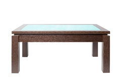 Coffee table in wood Royalty Free Stock Photo