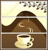 Coffee tags, vector Stock Images