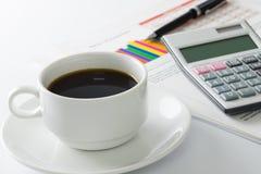 Coffee talk Stock Photos
