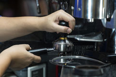 Coffee tamper Royalty Free Stock Photos