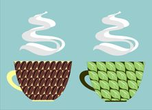 Coffee and tea Royalty Free Stock Images
