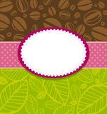 Coffee and Tea Background. Stock Photo