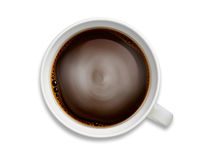 Coffee and tea close-up isolated image Stock Photo