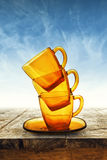 Coffee or Tea Cups Stock Images