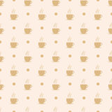 Coffee, tea or hot chocolate cup. Royalty Free Stock Images