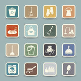 Coffee and tea Icons Royalty Free Stock Photography