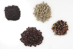 Coffee tea macro grain Royalty Free Stock Photography