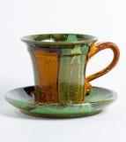 Coffee or tea mug isolated. On background Stock Images