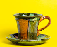 Coffee or tea mug isolated Stock Image