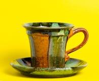 Coffee or tea mug isolated. On background Stock Image