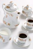 Coffee or tea set. royalty free stock photos