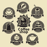 Coffee and tea shop Royalty Free Stock Images