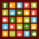 Coffee and tea time Royalty Free Stock Photo