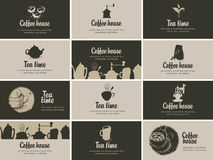 Coffee and tea Stock Images