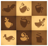 Coffee and tea Royalty Free Stock Photo